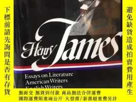 二手書博民逛書店Henry罕見James Literary criticism Essays on LIterature, Ame