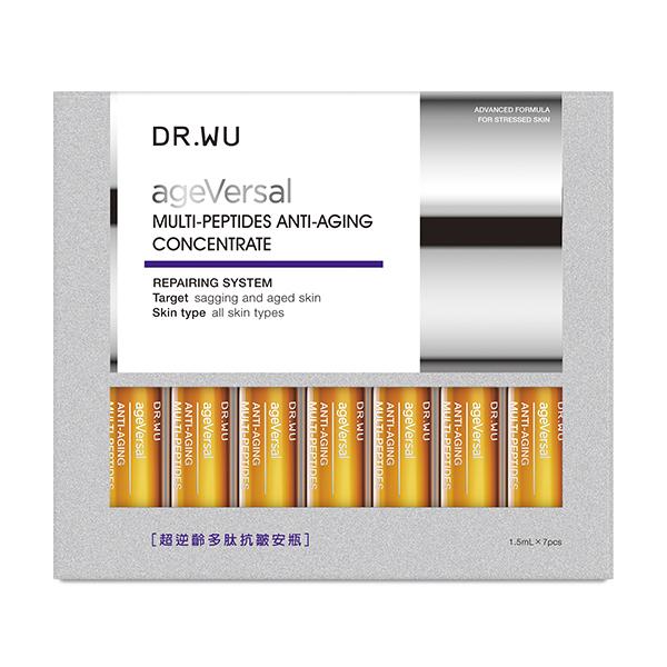 DR.WU 超逆齡多肽抗皺安瓶 7PCS【康是美】