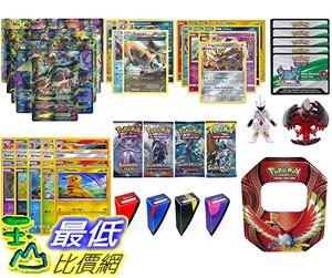 [107美國直購] 寵物小精靈 Pokemon MEGA Card and Figure Collection - 1 MEGA CARD AND 1 POKEMON
