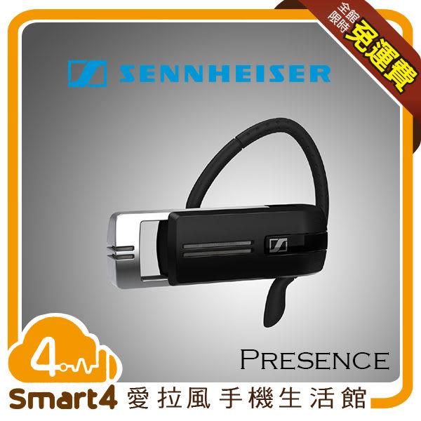 【 愛拉風】 森海塞爾Sennheiser PRESENCE 單耳 耳掛式 藍牙 藍芽 無線 耳機 三麥克風 公司貨