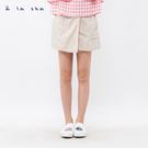 a la sha 小格子氣質短褲裙