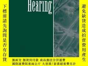 二手書博民逛書店Hearing罕見(handbook Of Perception And Cognition, Second Ed