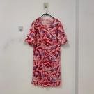 韓版顯瘦修身基本款短袖洋裝(F碼/121-7441)