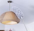 擦天花板 可伸縮加長桿雞毛禪子毯子除塵撣子家用掃灰擦屋頂天花板清潔神器 星期八