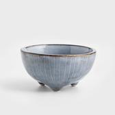 WAGA 日式 青玄手作11.3cm陶瓷圓碗