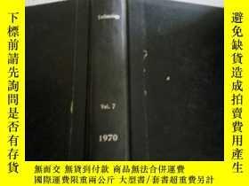 二手書博民逛書店technology罕見vol.7 1970(技術)Y21282