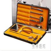 吃蟹工具 蟹八件不銹鋼蟹鉗夾大閘蟹配套螃蟹工具 BF8744『男神港灣』