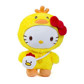 Sanrio HELLO KITTY變裝小雞系列8吋絨毛娃娃_RD00550