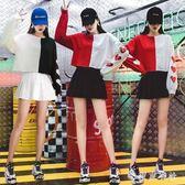 嘻哈街舞衣服女學生亮片舞蹈套裝韓版現代爵士舞成人舞臺演出服 QQ18961『東京衣社』