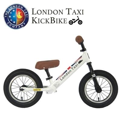 【愛吾兒】英國 London Taxi 專業充氣胎幼兒平衡滑步車-白