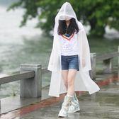 雨衣女成人韓國時尚徒步雨披套裝透明戶外防水全身學生雨衣單人男  小時光生活館