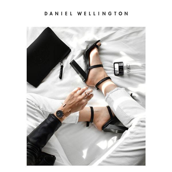 Daniel Wellington DW 手錶 32mm玫瑰金框 Classic Petite 香檳金米蘭金屬編織