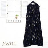 洋裝 仙人掌背心洋裝 7J1257 現貨 J-WELL