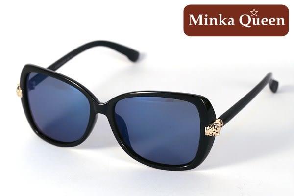 Minka Queen 極致簡約黑框(抗UV400鏡片)流行時尚百搭偏光太陽眼鏡