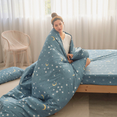 #U116#舒柔超細纖維6x6.2尺雙人加大床包+枕套三件組-台灣製(不含被套)