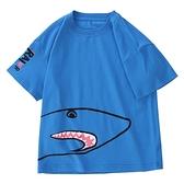 男童T恤 男童短袖t恤2021年夏裝新款中大童兒童T小學生半袖體恤【快速出貨】