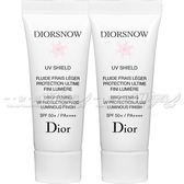 ☆17go☆ Dior 迪奧 雪晶靈透亮UV隔離霜SPF50+/PA++++(7ml)*2