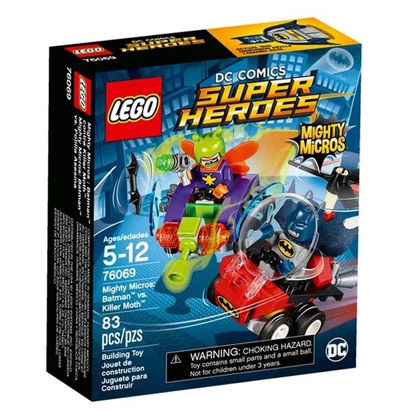 LEGO 樂高 DC系列 Mighty Micros: Batman™ vs. Killer Moth™ 76069