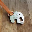【Desk+1】鑰匙圈吊飾 - 大象帶小象