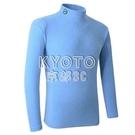 快速出貨加绒保暖高爾夫长袖T恤男高爾夫服装男装球衣户外健身运动球 YJT