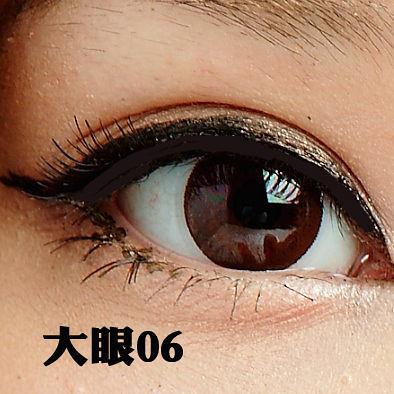 Beauty美姬風彩 ★大眼6★日系透明梗 超自然交叉(5對入) ♥ 近千種假睫毛品牌及款式♥