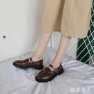 黑色小皮鞋女軟皮2020春秋季日系jk款韓版平底百搭英式復古學院風 HR351【極致男人】