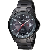 ALBA雅柏活力街頭時尚腕錶 VJ42-X268SD AS9H41X1 灰面