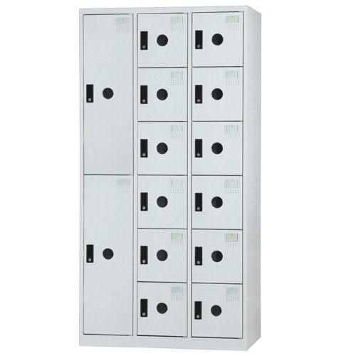 【時尚屋】DF多用途3x6尺鋼製14格置物櫃(免組裝)(免運費)(台灣製)