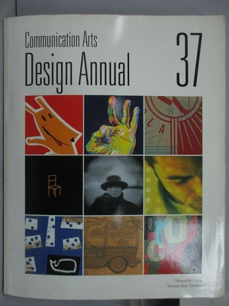 【書寶二手書T9/設計_XBR】Communication Art_Design Annual37_1996/11