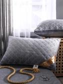 枕頭 抱枕 羽絲絨枕頭枕芯一對裝家用酒店護頸椎枕雙人單人學生枕頭芯整頭【限時八折】