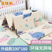 寶寶爬行墊加厚客廳可折疊地墊家用臥室嬰兒童拼接泡沫無味爬爬墊『新佰數位屋』