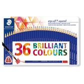 施德樓 MS156 Ergosoft全美水性色鉛筆-36色鐵盒組
