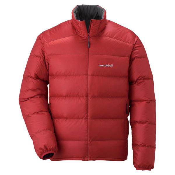 丹大戶外 日本【mont-bell】Alpine 男款羽絨外套 800Fill高規格羽絨/保暖超輕量 1101428PAPRI 椒紅