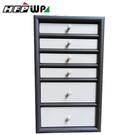 【特價】超聯捷 灰色6層木製飾品收納櫃收納盒 限量設計師精品 DJB361-2