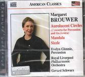 【正版全新CD清倉 4.5折】Margaret Brouwer: Aurolucent Circles; Mandala; Sizzle