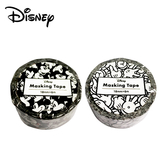 【日本正版】米奇 紙膠帶 18mm寬 日本製 手帳貼 Mickey 迪士尼 Disney BEVERLY 154501 154518