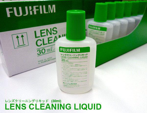 ★相機王★ Fujifilm Lens Cleaner (光學鏡片清潔液)