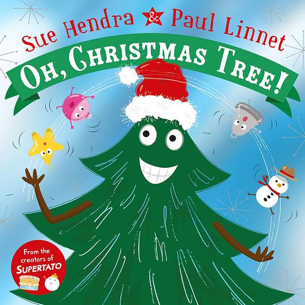 【麥克書店】OH, CHRISTMAS TREE!/英文繪本 《主題: 聖誕節.幽默逗趣》by Sue Hendra