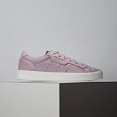 Adidas Sleek W 女款 紫色 復古 休閒鞋 EE8277