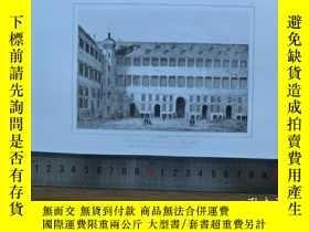 二手書博民逛書店【罕見】19世紀 銅 鋼版畫 單幅 PATIO DE LA RE