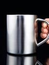 304不銹鋼水杯帶手柄保溫杯 家用學生茶...