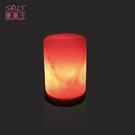 鹽燈專家-療癒系商品‧USB一柱擎天造型小鹽燈(1入),可擺放辦公桌,電腦旁,讓您財富福運滿滿。