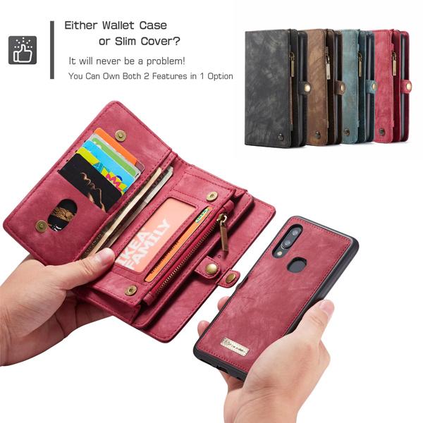 三星 A80 A70 A50 A30 A20 CM錢包相框皮套 保護套 手機套 皮套 磁力吸附 錢包皮套 CaseMe