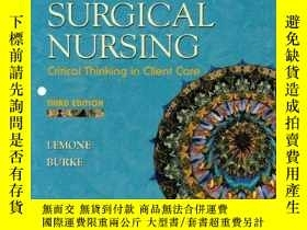 二手書博民逛書店Medical罕見Surgical Nursing, Critical Thinking In Client Ca