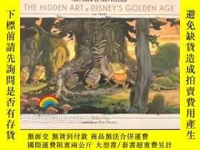 全新書博民逛書店迪士尼原畫集The Hidden Art of Disney s Golden AgeY331463 Didi