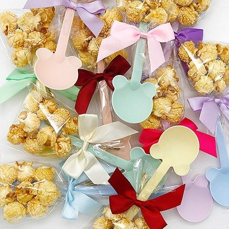 幸福婚禮小物「熊匙爆米花---1組10入」 爆米花/桌上禮/探房禮/活動小禮物/送客禮