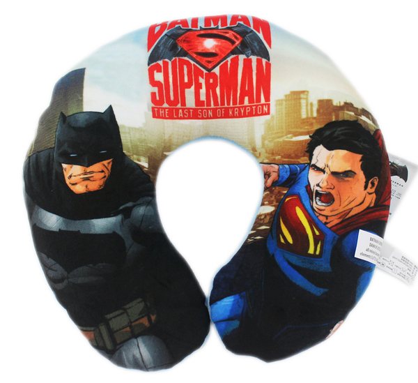 【卡漫城】 超人 蝙蝠俠 頸枕 主角 ㊣版 DC漫畫 batman superman U型枕 車用 午休枕 午安枕