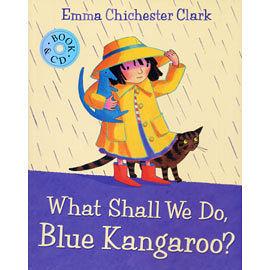 【麥克書店】WHAT SHALL WE DO, BLUE KANGAROO?/英文繪本附CD /小袋鼠系列