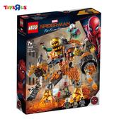 樂高 LEGO 76128 蜘蛛人 Molten Man Battle