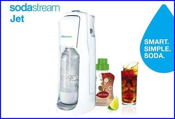 【歐風家電館】Sodastream JET 氣泡水機(白/恆隆行公司貨)